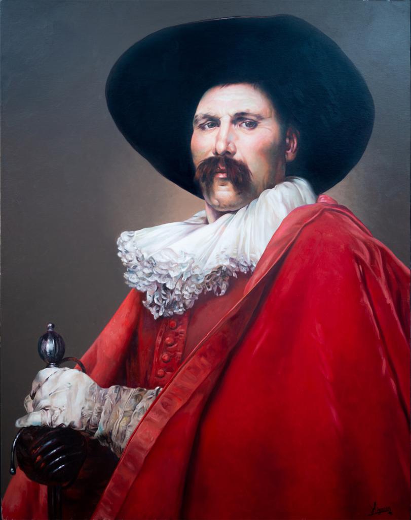 Mosquetero Porthos
